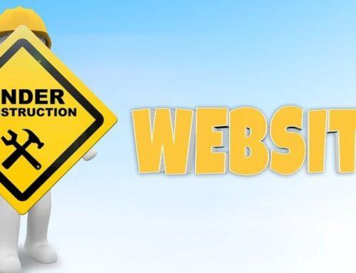 Een website met tekst: wij regelen het voor je!